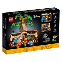 LEGO 乐高 Disney迪士尼系列 21326 维尼小熊树屋