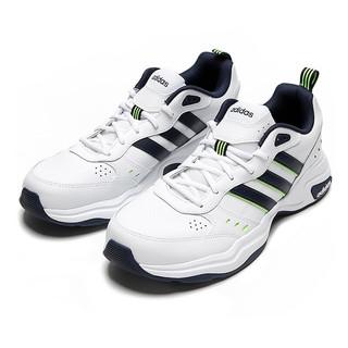adidas 阿迪达斯 Strutter 男子跑鞋 FZ0659 白藏青 41