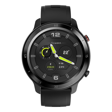 TicWatch GTX运动户外智能手表成人跑步游泳防水心率监测蓝牙多功