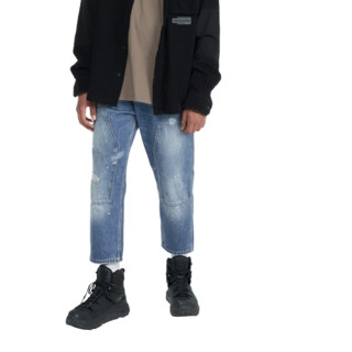 ViiSHOW 男士直筒牛仔裤 NC2129193 牛仔蓝 XL