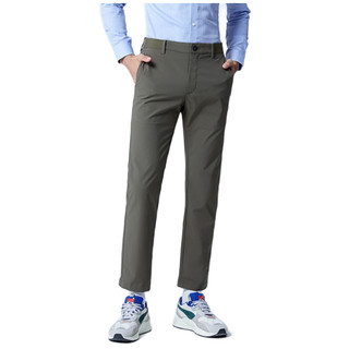 G2000 纵横两千 男士商务休闲裤 03152505 咖啡色 28