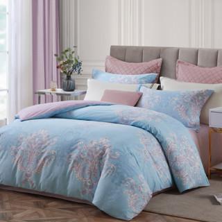 BEYOND 博洋 博洋家纺印花四件套全棉纯棉简约欧式高档秋冬季床上用品床单被套