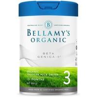 BELLAMY'S 贝拉米 有机系列 白金版 幼儿奶粉 澳版 3段 800g
