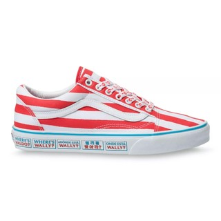 VANS 范斯  WHERE'S WALDO联名 Old Skool VN0A3WKT3UV 男女低帮帆布鞋