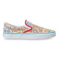 新品发售:VANS 范斯 WHERE'S WALDO联名 VN0A33TB3WO 男女款帆布鞋