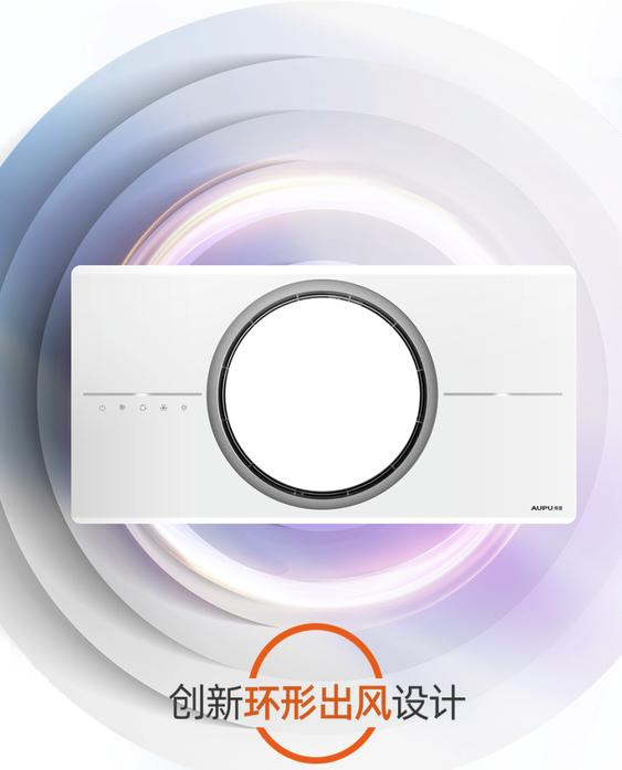 新品发售:AUPU 奥普 Q360A 热能环浴霸