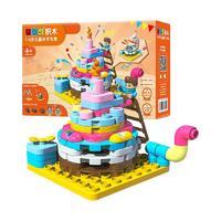 布鲁可 创造大师系列 80114 我的家-生日蛋糕
