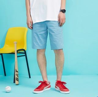 [3件1.5折]美特斯邦威官方五分裤男士夏季休闲短裤学生青年