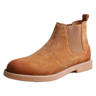 Mr.A 切尔西靴男士英伦风马丁靴秋季男靴