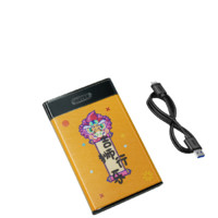 UNITEK 优越者 Y-3036 2.5英寸SATA硬盘盒 USB3.0 Y-3036 彩绘款吉狮行乐