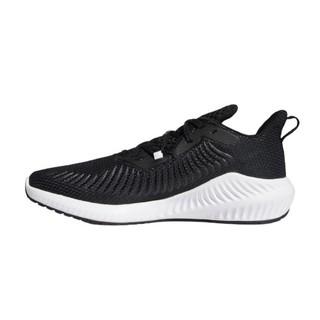 adidas 阿迪达斯 Alpha Bounce 3 男子跑鞋 EG1452 黑色/纯质灰/银金属 42.5