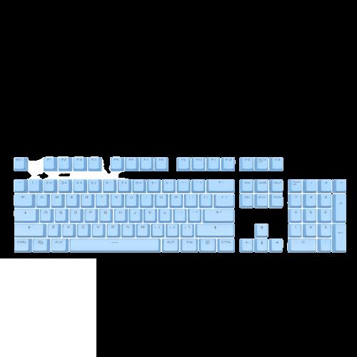 AJAZZ 黑爵 通用104机械键盘 键帽 白色