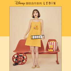 LED'IN 乐町 ×迪士尼联名 女士可爱吊带睡衣裙