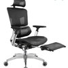 Ergoup 有谱 M0 人体工学椅 黑框黑网 可伸缩脚踏板