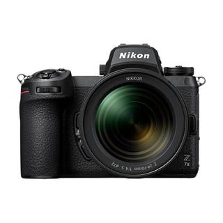 Nikon 尼康 Z 7II 全画幅 微单相机 黑色 Z 24-70mm F4 S 变焦镜头 单头套机