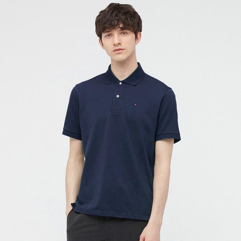 TOMMY HILFIGER 汤米·希尔费格 汤米 COS1473711 男士短袖POLO衫+T恤+衬衫(3件装)