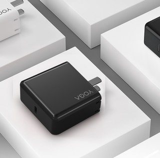 Lenovo 联想 YOGA 电脑手机充电器 Type-C 65WPD快充 + 双Type-C口 数据线 1.5m 云墨黑