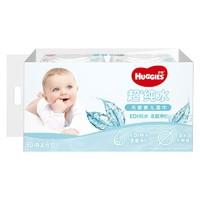京东PLUS会员:HUGGIES 好奇 纯水婴儿湿巾 80抽 6包