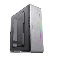 11日0点 : GAMEMAX 游戏帝国 小灵越AI白色 ITX mini 可壁挂式机箱