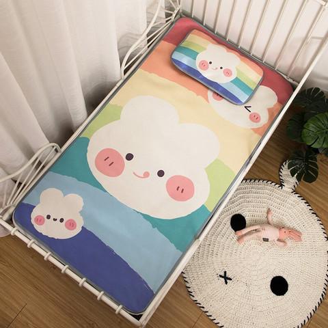 欧孕(OUYUN)婴儿凉席 彩虹兔子 110*60cm
