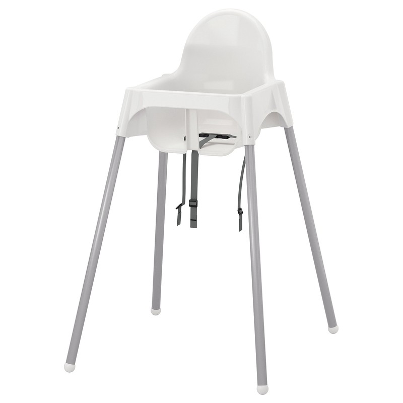 IKEA 宜家 ANTILOP系列 婴儿餐椅 白色(不含托盘)