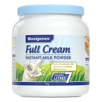 Maxigenes 美可卓 全脂奶粉 1kg/罐
