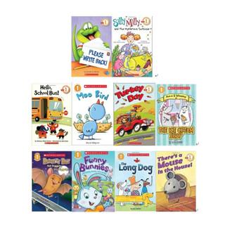 《Scholastic Readers Leveled L1 学乐分级读物:第一级》(英文原版、套装共10册)