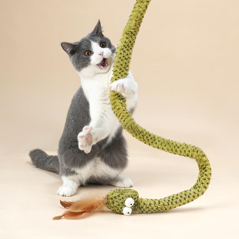 Zeze 蛇造型逗猫棒