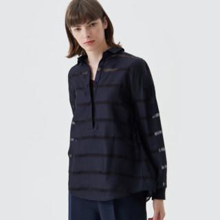 BLUE ERDOS 女士条纹衬衫 B276H5159