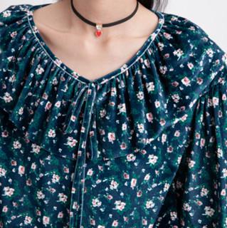 KAMA 卡玛 女士圆领衬衫 73-18856