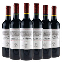 京东PLUS会员:LAFITE 拉菲 巴斯克花园 赤霞珠干红葡萄酒  750ml*6瓶