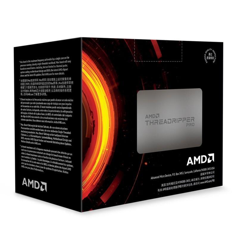 AMD 锐龙 Threadripper  PRO3955WX 工作站CPU处理器