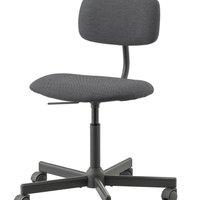 IKEA 宜家 BLECKBERGET 布雷伯格 转椅 伊德库拉 深灰色