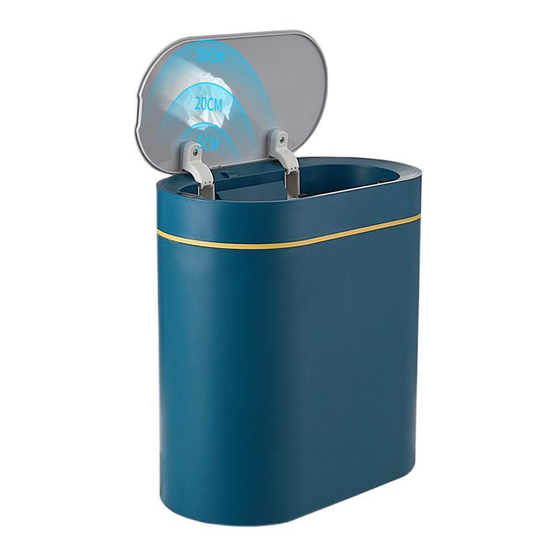 JAH自动家用卧室客厅卫生间厕所防水分类纸篓