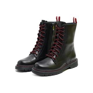 Bata 125周年马丁靴系列 女士中筒马丁靴 ABO50DZ9