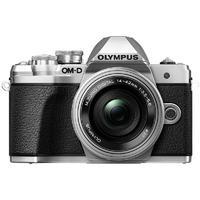 OLYMPUS 奥林巴斯 OM-D E-M10 Mark III M4/3画幅 微单相机 银色 ED 14-42mm F3.5 EZ 变焦镜头 单头套机