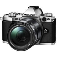 OLYMPUS 奥林巴斯 OM-D E-M5 Mark II M4/3画幅 微单相机 银色 ED 14-150mm F4 II 变焦镜头 单头套机