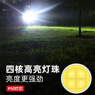神火 M20超强光手电筒充电超亮远射户外大功率探照灯5000氙气灯米