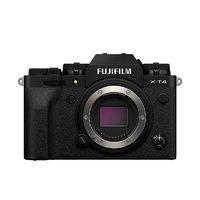 FUJIFILM 富士 X-T4 APS-C画幅 微单相机 黑色 单机身