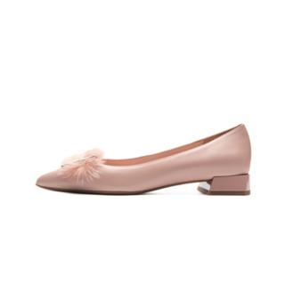 le saunda 莱尔斯丹 女士单鞋 AT13022 粉色 38