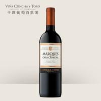 值友专享:CONCHA Y TORO 干露 侯爵梅洛红葡萄酒 750ml 单支装