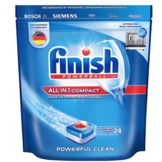 京东PLUS会员 : finish 亮碟 小型多效合一洗涤块 264g