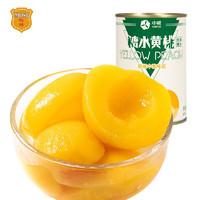 有券的上、限地区:MALING 梅林 糖水黄桃罐头 425g