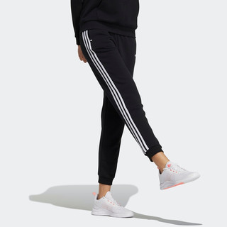 阿迪达斯官网 adidas neo W CE 3S PANTS 女装运动裤GP7131 黑色/白 A/M(165/72A)