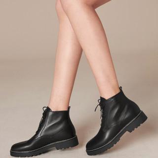 Teenmix 天美意 女士短筒马丁靴 CLY40DD9
