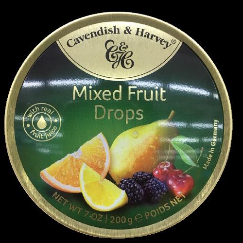 Cacendish&Harvey 卡文迪-哈维 硬糖 混合水果味