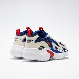 Reebok 锐步 DMX系列 Series 1000 中性休闲运动鞋 DV8744 白灰/蓝红 40.5