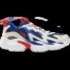 Reebok 锐步 DMX系列 Series 1000 中性休闲运动鞋 DV8744 白灰/蓝红 42