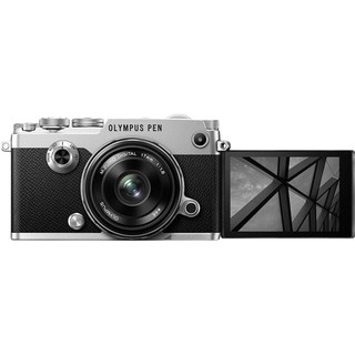 OLYMPUS 奥林巴斯 PEN-F M4/3画幅 微单相机 银色 17mm F1.8 单头套机