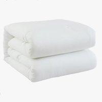Letsleep 绘睡 双人保暖纤维被 白色